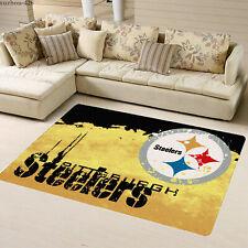 Pittsburgh Steelers Fluffy Floor Mat Living Room Bedroom Non-Slip Carpet Deco