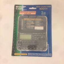 NEW Sharp EL-6390B 1MB MEMO MASTER ALARM 600 3-Line PDA Electronic Organizer NIB