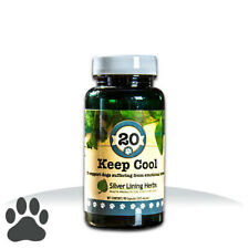SILVER LINING HERBS #20 KeepCool Herbal Calming Stress Reliever for Dogs Canines