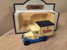 Rare Lledo Hamleys Toy Shop Light Blue Chassis Chevrolet Box Van
