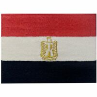Embroidered patches Iron On Sew On patch badges Appliques Nation Egypt Flag