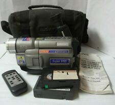 Humorous Vintage Rca Vhs High Quality Hq Cc415 Camcorder Pro Edit Ccd Other Dj Equipment