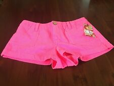 Ocean Pacific Vintage Op Womens Pink Sizzle Corduroy Shorts Size 13