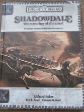 WOTC D&D D20 3E 3.5E FORGOTTEN REALM SHADOWDALE SCOURING LAND OF  HB HC DUNGEON