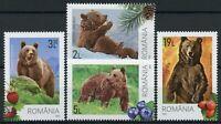Romania Wild Animals Stamps 2020 MNH Bears Brown Bear Fauna 4v Set