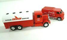 Vintage Diecast Toys Supreme Chevron Gasoline Truck Corgi Coca Cola Custom Van