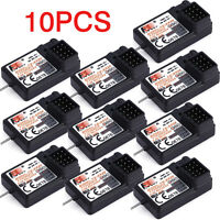 LOT 10 FlySky Upgraded 3CH 2.4G FS-GR3E GR3C GT3B Receiver For Rc Car Rc Boat OY