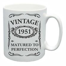 67th Novelty Birthday Gift Present Tea Mug 1951 Matured To Perfection Coffee Cup