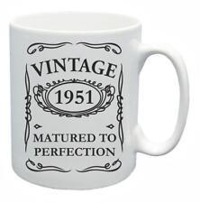 67th Novelty Birthday Gift Present Tea Mug 1951 Matured To Perfection Coffee Cup
