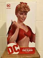 MIB! LOW NUMBER 0047/5000! DC BOMBSHELLS THE FLASH JESSE QUICK STATUE ANT LUCIA