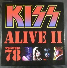 Kiss - Alive II Springfield 78 Box Set - 4LP Picture Disc, Book, Photos, Poster