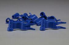 10x LEGO® City Fahnen, Flaggen 4495 neu blau