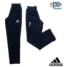 "ADIDAS TEAM GB RIO 2016 ELITE ATHLETE OLYMPIC PRESENTATION PANTS Size 42""L"