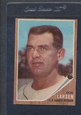 1962 Topps #033 Don Larsen Giants VG/EX *806