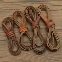 1M Leather Rope Cowhide Cords Necklace Bracelet Crafts Thread