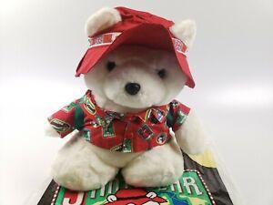 1993 Santa Bear Dayton Hudson with original bag and passport Plush