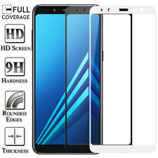 Full Cover Tempered Glass Screen Protector For Samsung A9 A7 A6 A8 J8 J6 J4 Plus
