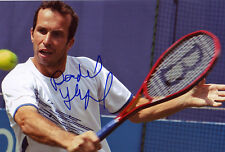 Radek Stepanek Hand Signed 8X12 Inches Tennis Photo