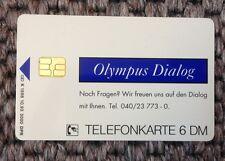 Telefonkarte Olympus Dialog, NEU / unbenutzt,  Sammler 6 DM