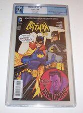 Batman '66 #5 variant - Dave Johnson variant (rare) - NM+ 9.6 (Batgirl cover)