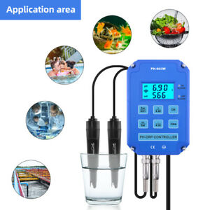 PH ORP Redox Controller Output Power Relay Water Quality Tester For Hydroponics