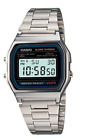 Casio Vintage A158WA-1D Silver Stainless Steel Watch For Men and Women