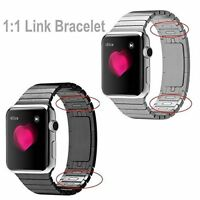 1:1 Stainless Steel Bracelet Strap Band Link For Apple Watch Series 5 4 3 2 1