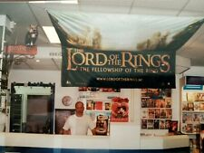 The Lord Of The Rings LOTR The Fellowship Of The Ring GIGANTIC Wallscroll Ultra