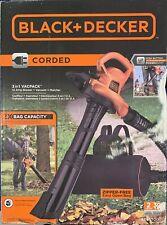 NEW SEALED Black & Decker Leaf Blower Vacuum & Mulcher BEBL7000 3 in 1 Vacpack