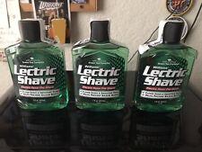 3 Bottles 7oz Each Lectric Shave Pre-Shave for Men, Green Tea Complex
