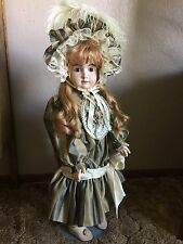 CALLI-LOU ARTIST ANTIQUE REPRODUCTION DOLL-COMPO BODY-26 IN. TALL