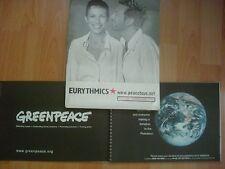 EURYTHMICS PEACE TOUR PROGRAM BOOK 1999