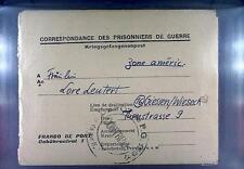 POW Camp 153 Hyères France 1947 German Prisoner War Kriegsgefangenenpost 74