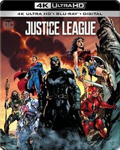 SEALED  Justice League SteelBook Metal Case  4K Ultra HD UHD + Blu-ray + Digital