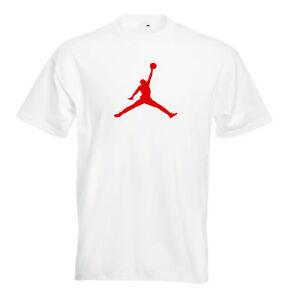Juko Jordan T Shirt Basketball Michael Bulls air nba unisex