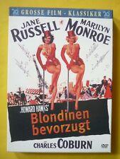 Blondinen bevorzugt DVD im Schmuckschuber Grosse Film-Klassiker Marilyn Monroe