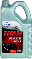 5Litres Fuchs Titan Race Pro S 5W40  Fully Synthetic Ester Engine Oil