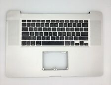 """USED Top Case PalmRest with US Keyboard for Apple MacBook Pro A1297 17"""" 2009"""