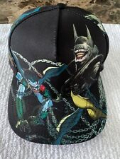 DC COMICS BATMAN WHO LAUGHS SnapBack CAP HAT PREVIEWS EXCLUSIVE Rare