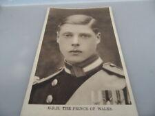 Prince of Wales HRH King Edward VIII  Portrait 1910  POSTCARD  GOOD CONDITION