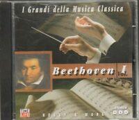 BEETHOVEN Vol. 1 I Grandi della Musica Classica CD Audio Musicale