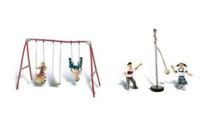 Painted Playground Fun (OO/HO figures) Woodland Scenics A1943 P3
