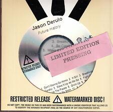 jason derulo future history  cd limited edition new