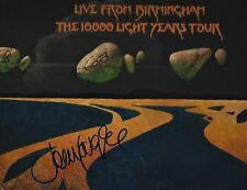 JOHN LODGE of THE MOODY BLUES 10,000 LIGHT YEARS TOUR  2lp RedVinyl AUTOGRAPHED