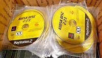 Brand New Sony Playstation 2 Kiosk Disc 2.23 - PS2 - Yellow Demo Disk [RARE]