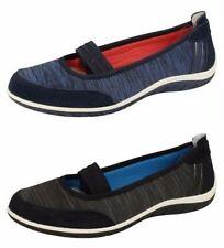 Textile Ballerinas Standard Width (D) Flats for Women