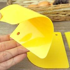 3 x plastificatrice a pasta di plastica per fondotinta a raschietto CH