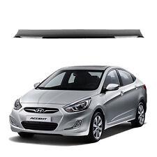 New Rear Roof Vent Rain Guard Spoiler Visor Deflector for Hyundai Accent 12-17