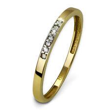 SD SilberDream Gold Ring Zirkonia weiß Gr.54 333er Gelbgold GDR502Y54