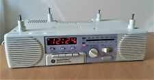 GE Spacemaker Vintage AM FM Radio Cassette Player Model 7-4287A Under Counter